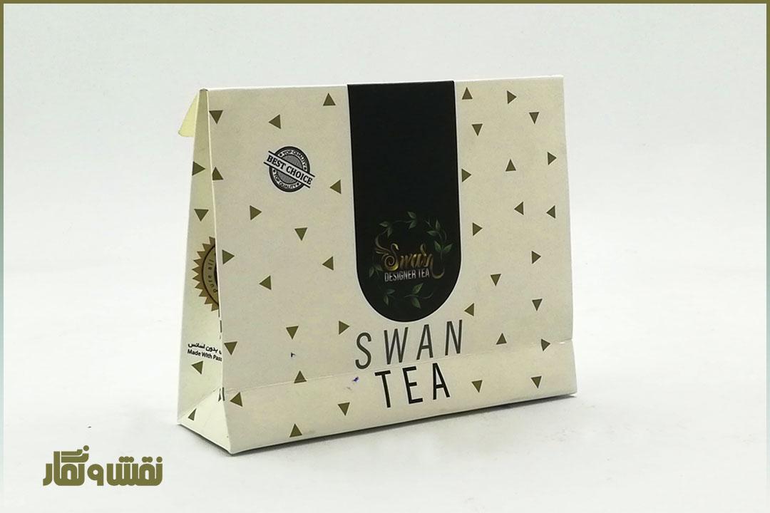 جعبه چای کیسه ای